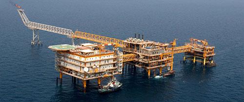 سکوی سلمان ، خلیج پارس